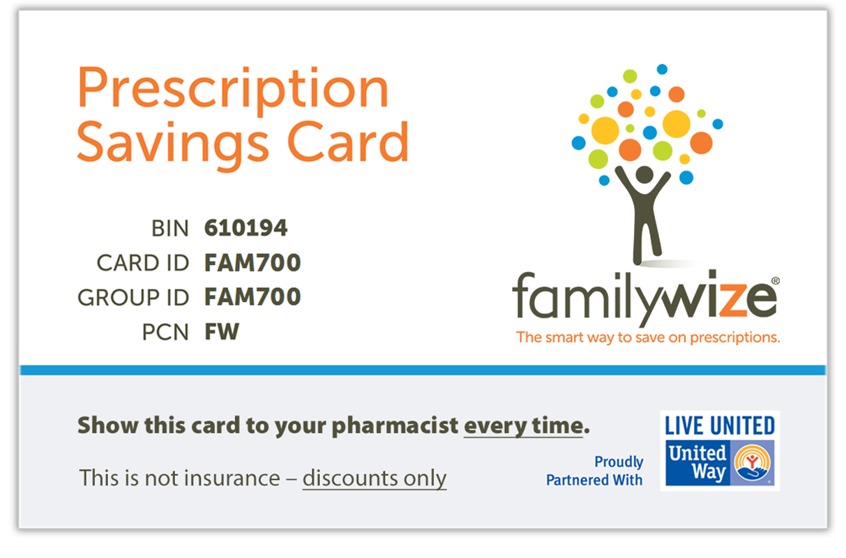 FamilyWize Prescription Discount Card